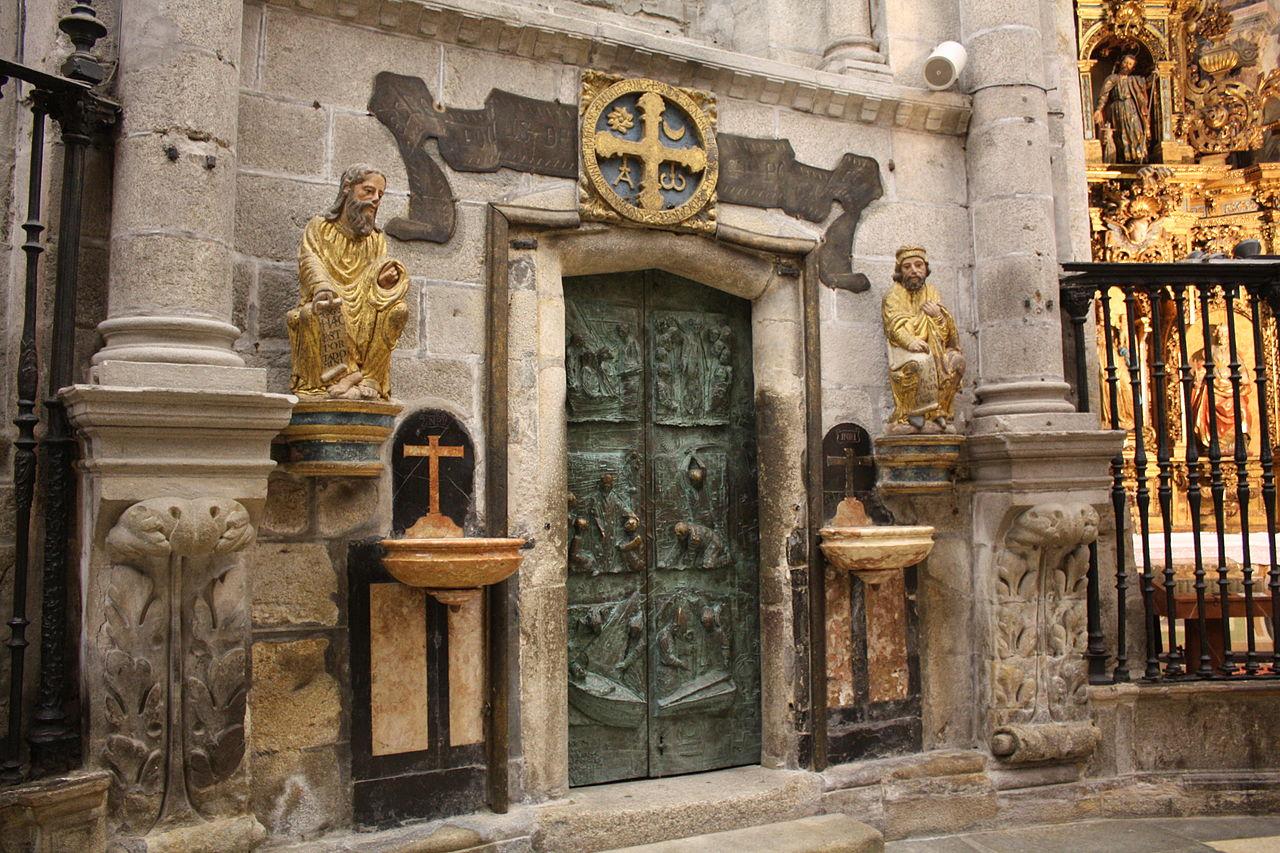 FileSantiago Catedral Porta Santa 0102JPG  Wikimedia