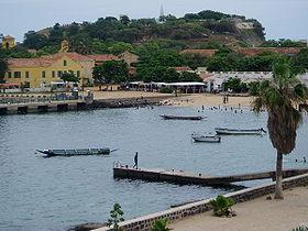Port de l'île de Gorée