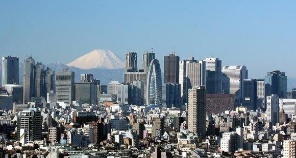 Skyscrapers of Shinjuku 2009 January