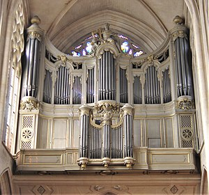 Organ at St. Germain Auxerrois