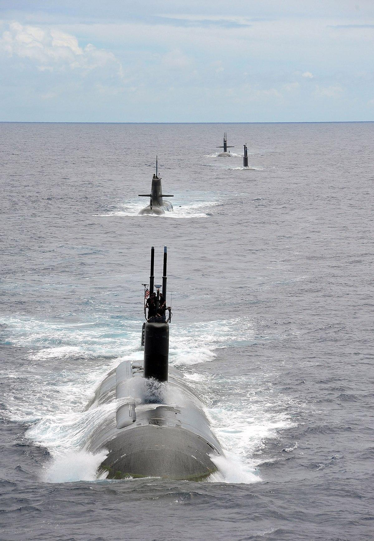 Le Plus Grand Sous Marin Du Monde : grand, marin, monde, Forces, Sous-marines, Wikipédia