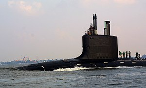 USS Virginia, an attack submarine