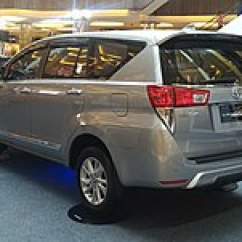 All New Toyota Kijang Innova 2019 Venturer Wikipedia 2016 2 0 Q Tgn140r Indonesia