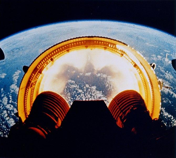 अपोलो ६ से ली गयी तस्वीर