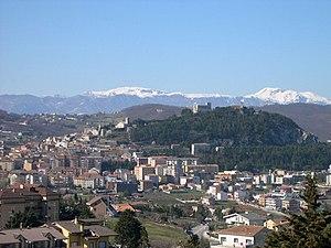 Panorama of Campobasso