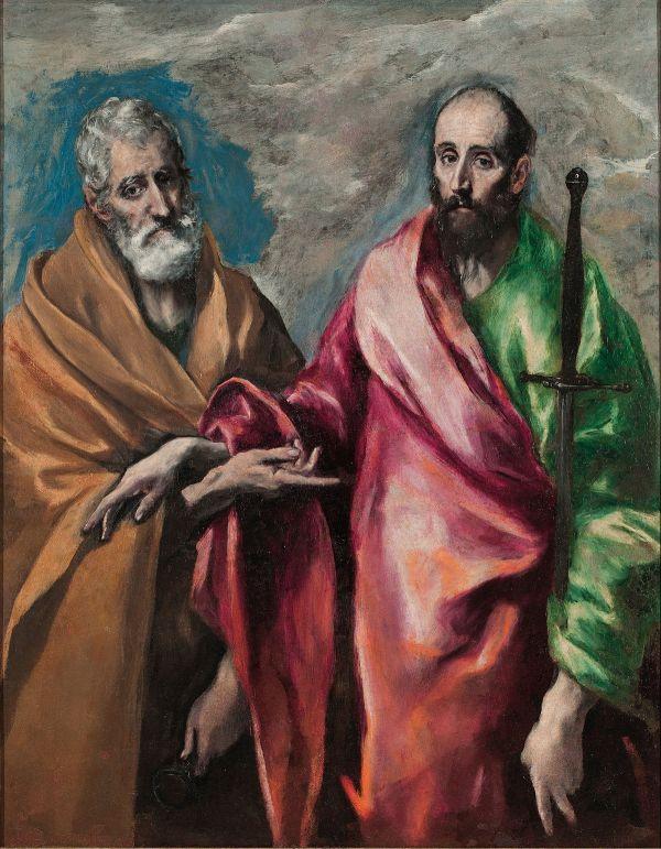 El Greco Saint Peter and St. Paul