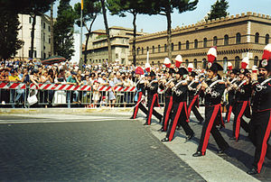 English: Army parade of Republic Day, Rome (It...
