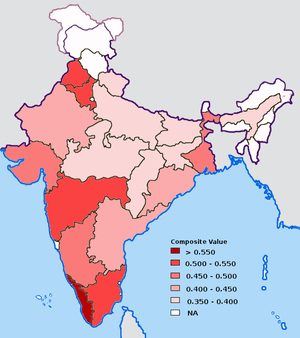 Performance of Indian states in providing basi...