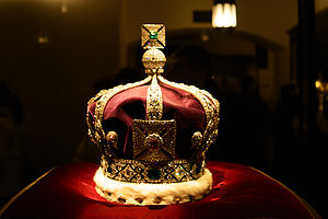 English: The Imperial Crown of India