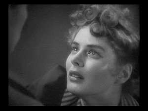 This screenshot shows Ingrid Bergman as she is...