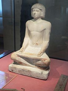 Escriba de lAntic Egipte  Viquipdia lenciclopdia lliure