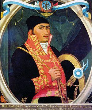 Retrato de José María Morelos y Pavón