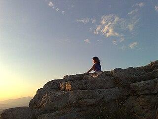 Meditation in Rocca di Cerrare by Dedda 71. http://commons.wikimedia.org/wiki/File:Pagan_meditation2.jpg