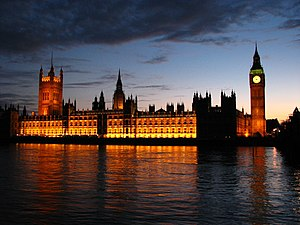 Palace of Westminster.