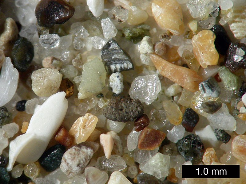 English: Sand from Pismo Beach, California.