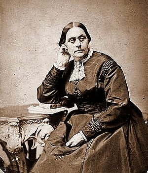 Photo scan of Susan B. Anthony from Life Magaz...