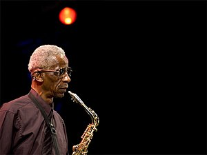 saxophonist Roscoe Mitchell at the Pomigliano ...