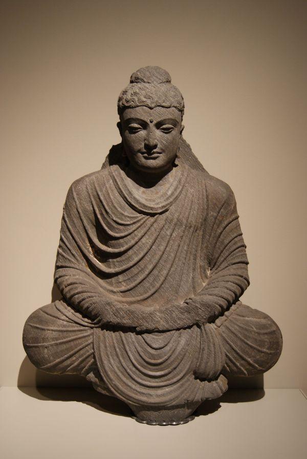 File Seated Buddha In Meditation 3rd Century Yale