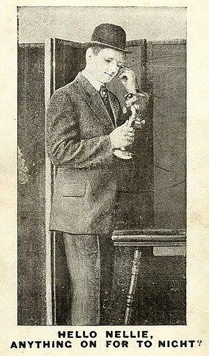 """Saucy"" Postcard 1905 - 1915"