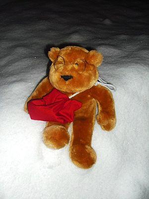 English: A teddybear Svenska: Urban Hjärta en ...