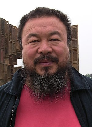 Ai Weiwei during documenta 12 (2007)