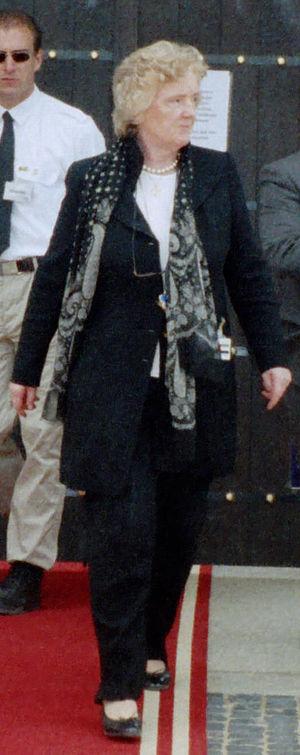 Birgit Breuel on the Expo 2000.