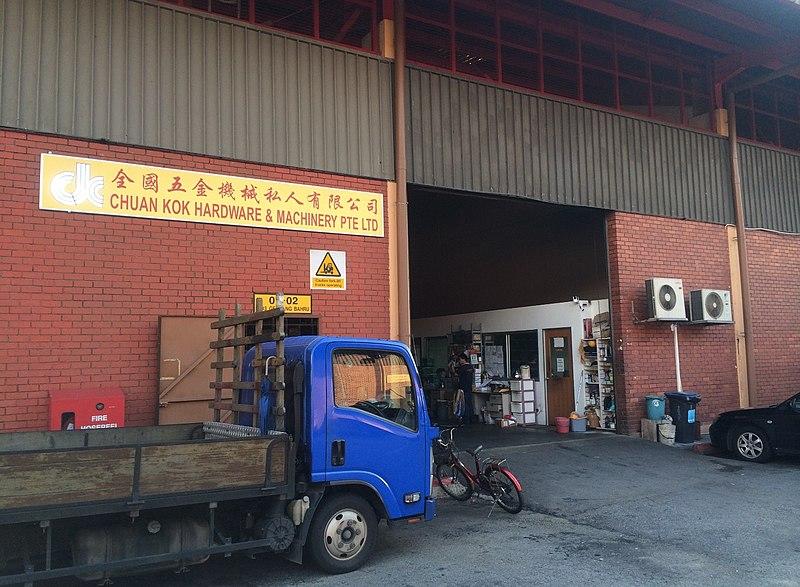 Filechuan Kok Hardware & Machinery Pte Ltd, Geylang Bahru