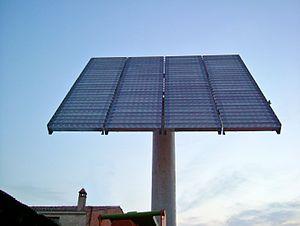 Català: Planta de concentració fotovoltaica a ...