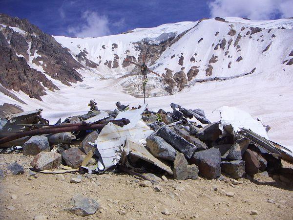 Andes Plane Crash Site