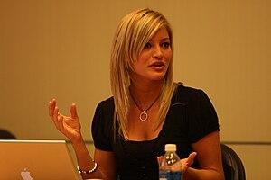 Justine Ezarik at the Intel insider event. Ori...