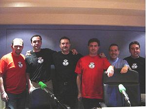 Raúl Shogún, Bruno Cardeñosa, Juan Antonio Cebrián, Carlos Canales, Jesús Callejo y Martin Expósito.