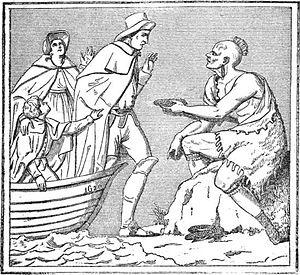 """Landing of the Pilgrims"""