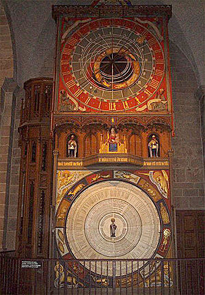 Astronomical clock in Lund Cathedral