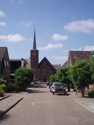 Roman Catholic church of Milsbeek, Netherlands