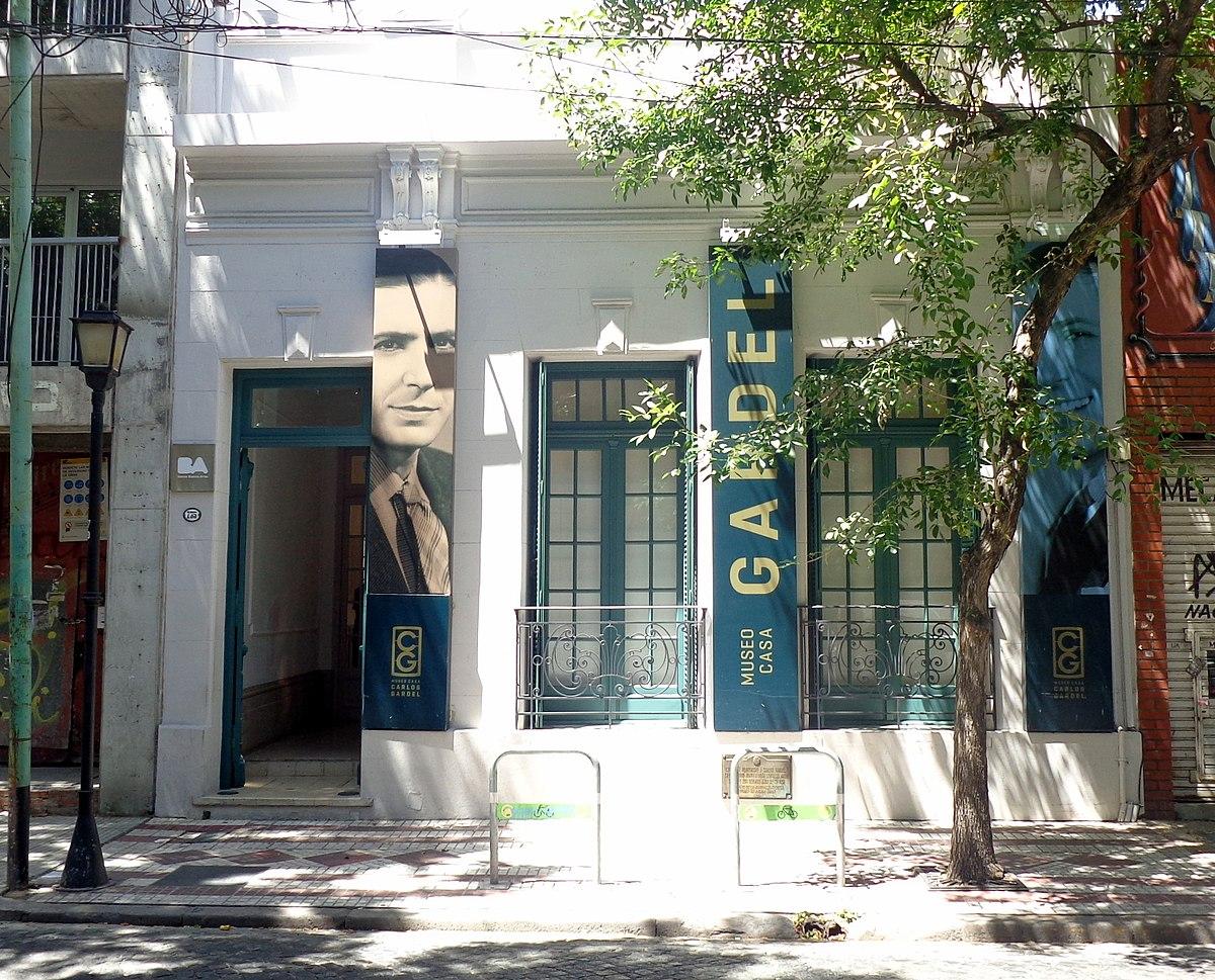 Museo Casa Carlos Gardel  Wikipedia la enciclopedia libre