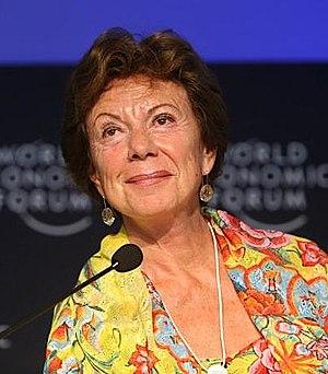 Deutsch: Neelie Kroes, Wettbewerbskommissarin ...