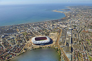 Stadium Nelson Mandela Bay, in Port Elizabeth,...