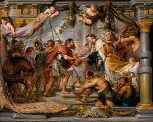 Peter Paul Rubens - The Meeting of Abraham and...