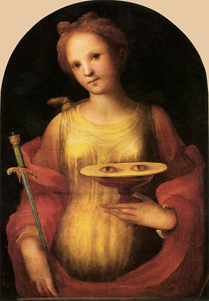 Die heilige Lucia