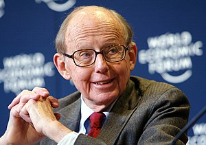 English: Samuel P. Huntington, Chairman, Harva...
