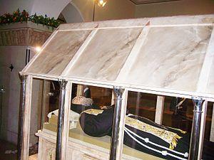 Body of Saint Pio da Pietrelcina. Due to its d...