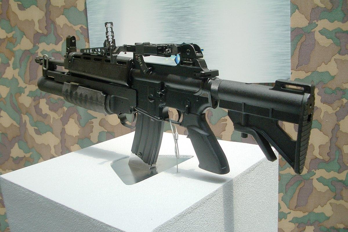 T86 Assault Rifle - Wikimedia Commons