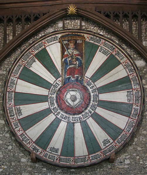King Arthur's Round Table in Winchester (Venta), Wikipedia