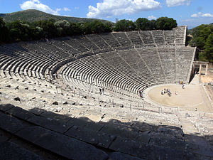 Amphitheater in Epidaurus