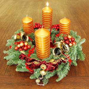 Advent wreath, Frist Advent Sunday