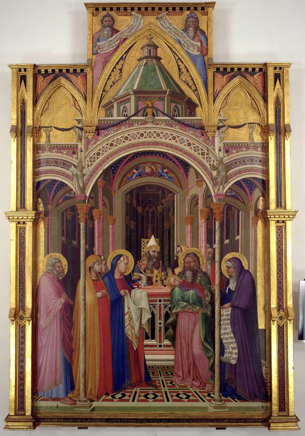 medium resolution of Presentation of Jesus at the Temple - Wikipedia