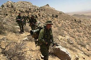 Canadian soldiers in Afghanistan were the Cana...