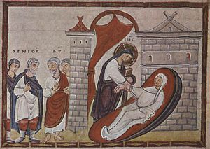 Ressurection of Jairus' daughter