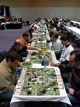 Dungeons & Dragons Miniatures tournament