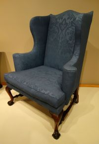 Wing chair - Wikipedia